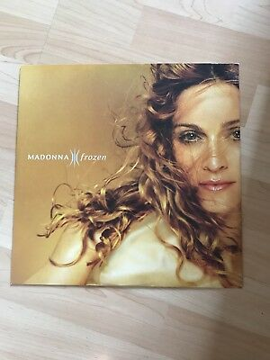 """Madonna Frozen 12"""" Vinyl UK Single W0433T Rare With SAM 3173 On Run Out Groove"""