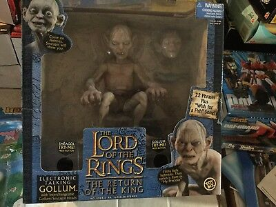 Lord Of The Rings Action Figure Gollum Marvel