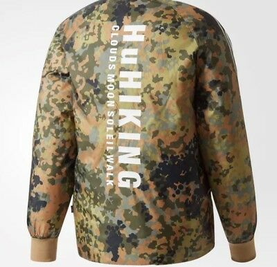 big sale exquisite style authentic SMALL)ADIDAS PHARRELL WILLIAMS HU Hiking Camo SST Reversible ...