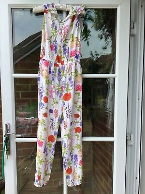 Monsoon Floral Jumpsuit BNWT age 6 Yrs