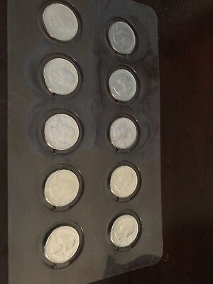 2017 National Park Quarters - Complete 10 Quarter P&D Set - US Mint Uncirculated