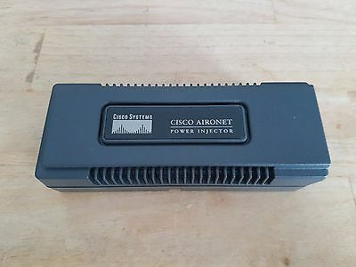 Cisco Aironet Power Injector 48V Output 10/100 BaseTX Cat5 RJ-45 AIR-PWRINJ3