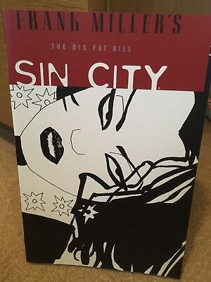 Sin City Volume 3 The Big Fat Kill Frank Miller Graphic Novel Dark Horse Noir TP
