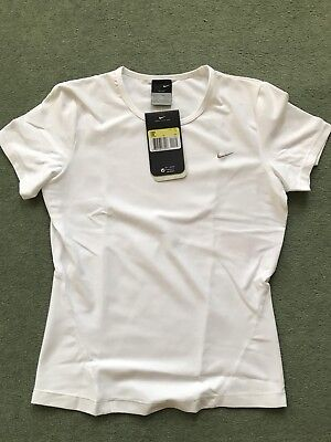 BNWT Nike Dry Fit Women's Tennis Short Sleeve t Shirt Size S