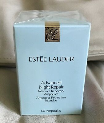 Estee Lauder Advanced Night Repair Intensive Recovery Ampoules, 60 Count Sealed