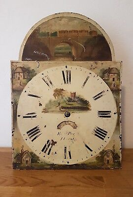Antique Long Case Clock Movement - Spairs and Repairs