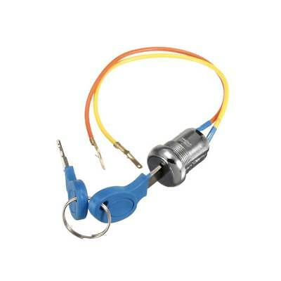 2 Wire Key Ignition Key Switch Lock Electric For ATV Dirt Scooter Kart Bike US