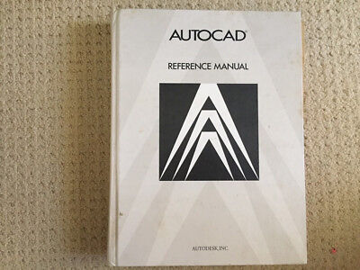 Autocad drafting Package Reference Manual 1986
