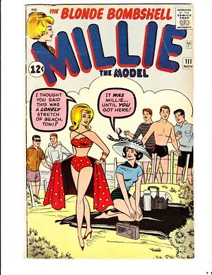 Millie the Model 111 (1962): FREE to combine- in Very Good-  condition