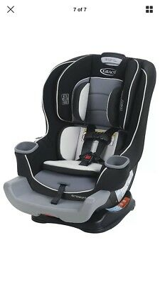 Graco Extend2Fit Convertible Car Seat, Gotham, One Size FAST FREE SHIPPING New