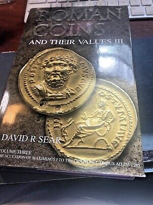 *NEW* Roman Coins and their Values  ~ Volume III ~ By David Sear