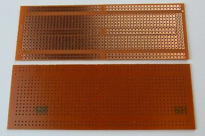 4.8x13.4cm Stripboard Prototype 5er Breadboard Layout FR-2 Bakelite PCB USA Ship