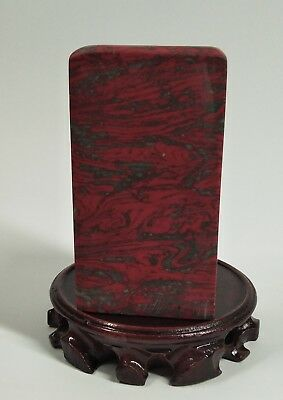 4.7(in) Chicken Blood Stone Seal blank 19TH C