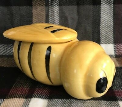 Vintage Japanese Ceramic Bee Container