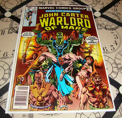John Carter Warlord of Mars #16 (Sep 1978) Bronze Age Marvel Comic FN Condition