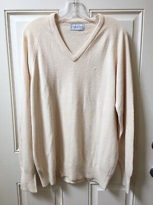 Men's Christian Dior V Neck Sweater Size Large V Neck Long Sleeve