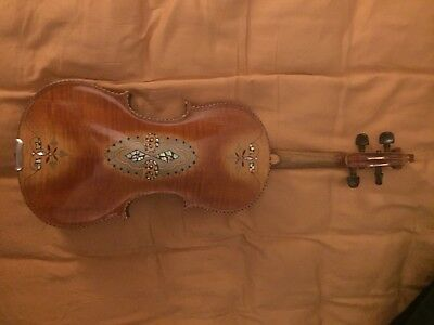 Full Size Violin With Mother Of Pearl Inlay