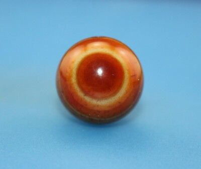20*20 mm Antique Dzi Agate old 2 eyes Bead from Tibet **Free shipping**