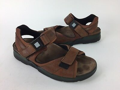 0d2972d20e1e MEPHISTO SHARK MENS Sandals Leather Brown US 8 EU 42 SJ -  79.99 ...