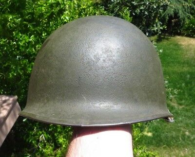 WW2 US Army Military M1 Helmet Shell Schlueter 5th Ranger Battalion RS SB