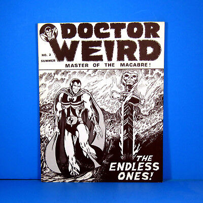 Early Starlin. Doctor Weird #2 by Texas Trio. 1971. George R. R. Martin. VF 8.0