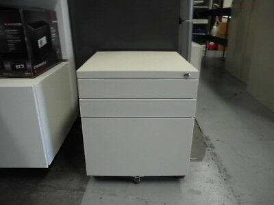 Office Steel 3 X Drawer Mobile Pedestal Brisbane