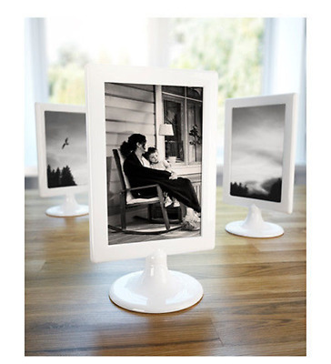 IKEA WHITE TOLSBY Frame Standing 2 Pictures 4 x 6 Wedding Party Art ...