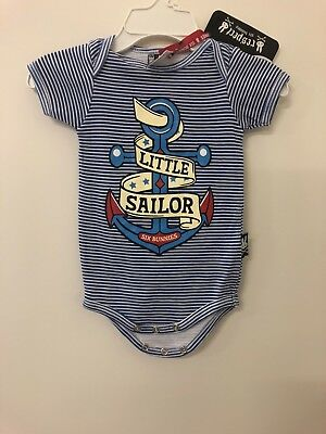 3 Baby Rompers Rockabilly Little Sailor Anchor Six Bunnies Tattoo And More