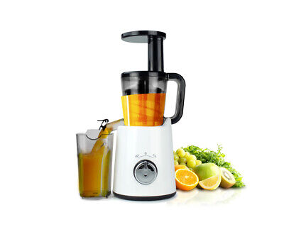 Slow Juicer Cold Press Juice Extractor Processor Healthy Electric Fruit Veggi...