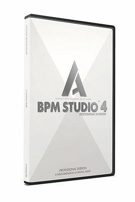 Alcatech BPM Studio Pro -  XP/Vista /Windows7/8/10 - neu & OVP  DJ Software