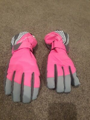 Womens girls snow ski boarding gloves crane size 13/14 used once