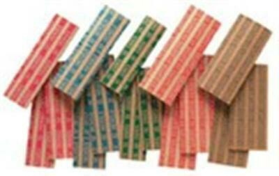 Flat Coin Wrappers Mix Assorted 5 Sizes 150 Wrappers High Quality Heavy Duty