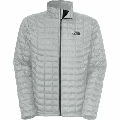 ee547107d0bc The North Face Thermoball Full Zip Jacket - Men s High Rise Grey Asphalt  Grey