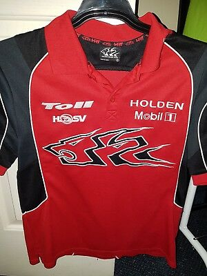@@ OFFICIAL HOLDEN RACING TEAM Men's Polo Top Size Small @@