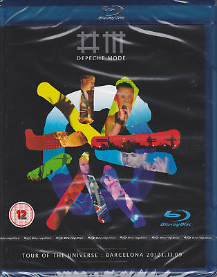 Depeche Mode Tour Of The Universe Double Blu-Ray New