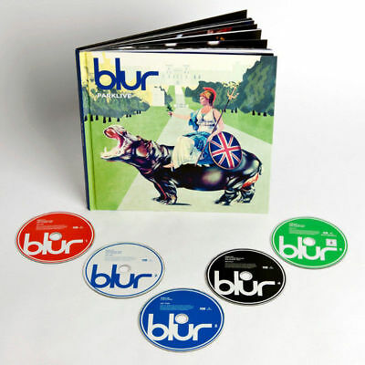 Blur Parklive Box Deluxe 4 Cd + 1 Dvd + Book New And Sealed