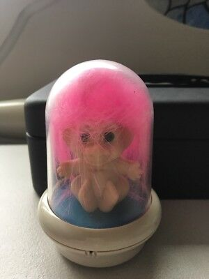 Troll In Plastic Dome....eyes Lights Up......waco Brand....vgc.