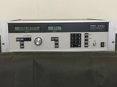 PTS 1000D Frequency Synthesizer  1MHZ -1GHZ PROGRAMMABLE for use in NMR systems
