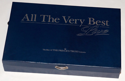 ALL THE VERY BEST - The Princes Trust Concert - CDs / VHS / T-Shirt / Booklet +