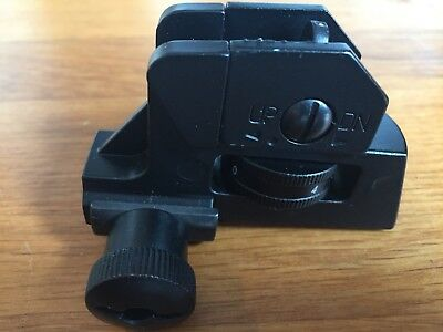 AR15 / Rearsight / Visier / Diopter