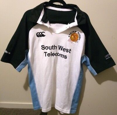 England UK Exeter Chiefs Rugby Union Canterbury Jersey Guernsey