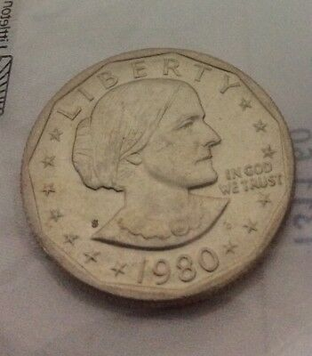 1980-S SUSAN B ANTHONY DOLLAR Uncirculated-60 Littleton Coin Item #1311.60