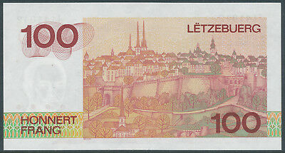 Luxembourg / Luxemburg - 100 Francs 1986 UNC - Pick 58a, Serie J
