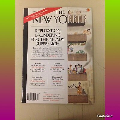 THE NEW YORKER MAGAZINE JUNE 25, 2018 FREE Shipping! Brand New