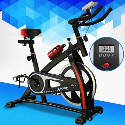 550lb Fitness Stationary Spinning Exercise Bike Cardio Indoor Cycling Bicycle BT