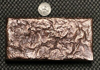 Copper Bullion Bar - 5 LB & 1 OZ Ingot - Hand Poured 999. Fine Copper -