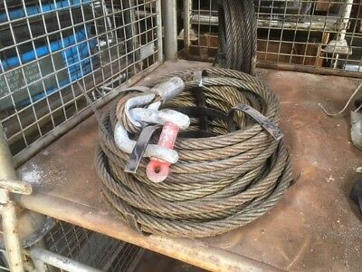 Tirfor Winch Rope, 16.3mm 30mts, ex army UNUSED