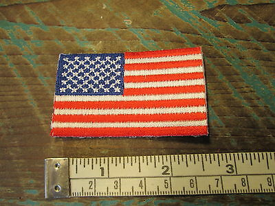 New Small American Flag Racing Patch Nascar Scca Alms Indy Cart Irl Imsa Nhra