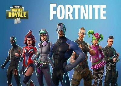 Fortnite Season 4 A2 Large Poster - Free Postage