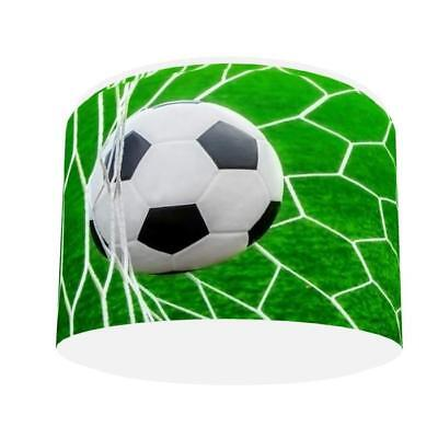 FOOTBALL GOAL LIGHT SHADE KIDS ROOM matches duvet set NEW